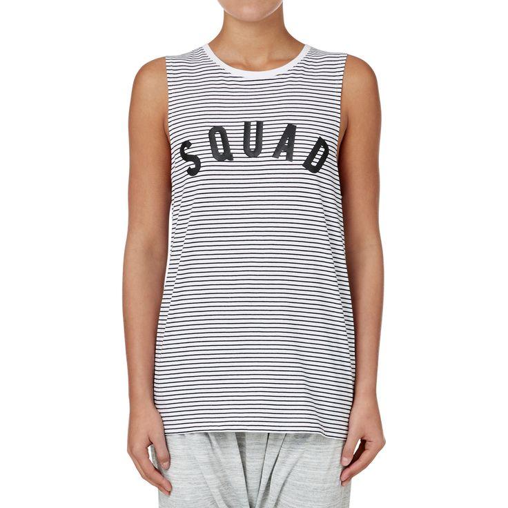 Shop now: Squad Tank. #seedheritage #seedsport #sport #woman