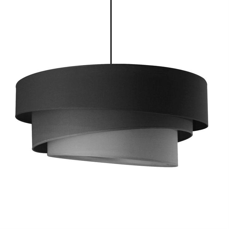 IONOS - Lampa wisząca Szary Śr.58cm Metropolight