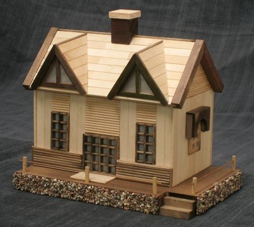 Popsicle Stick Crafts House And Doll House Furniture. Lots Of Classy Wood  Gifts