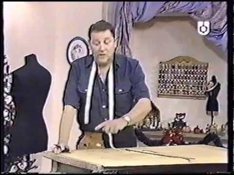 Puntos y Puntadas 34. Parte 2. Cómo hacer el molde de una prenda hecha. Moldería. Hermenegildo. - YouTube