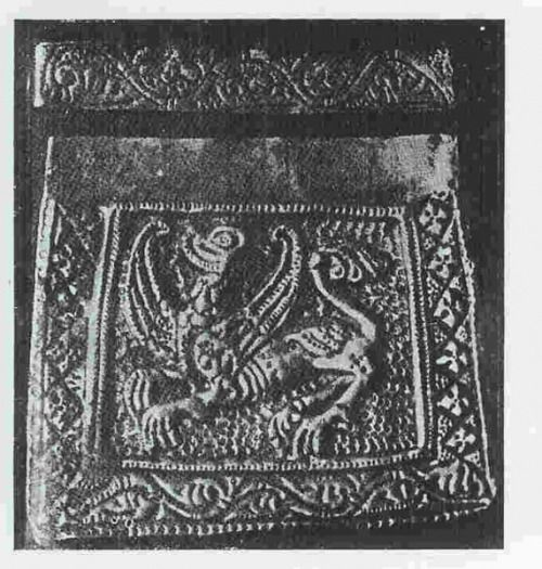Kaptorga found inChełm Drezdenecki, Poland. Culture: Slavic (West Slavs - early romanesque influences). Timeline: 11th century (treasure hidden after 1056). [source] Kaptorga was a small container for amulets and/or sacred herbs, worn around the neck.