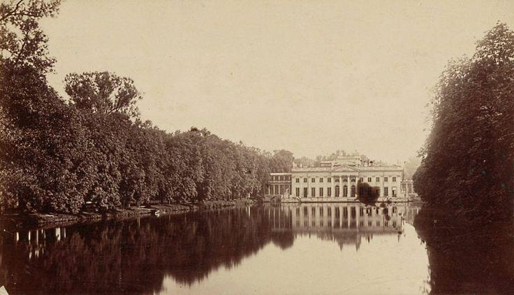 Mamy dla Was prawdziwą perełkę. Nieznane zdjęcia Warszawy z lat 1870-tych! Cudo! Fot. Pałac na Wodzie 1870