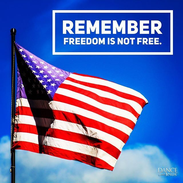 Remember Freedom Is Not Free Memorialday Freedom Instagram Memorial Day