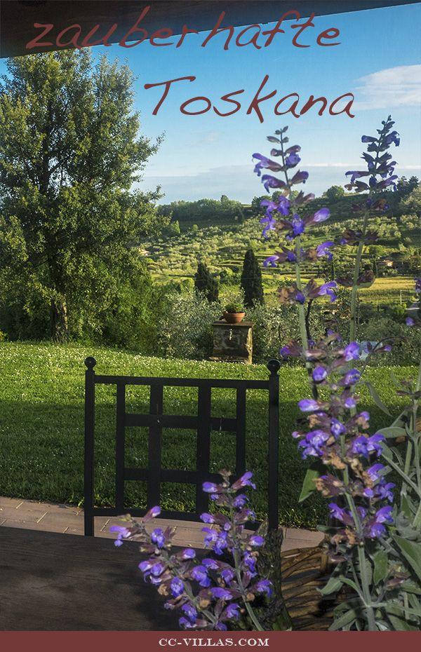 Ferienhaus inmitten der Toskana Landschaft...