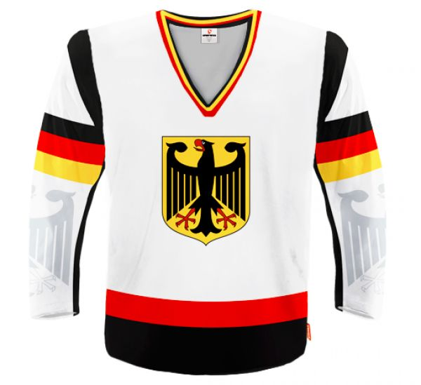 GERMANY Hockey Jersey With Custom Name And Number Different Colors