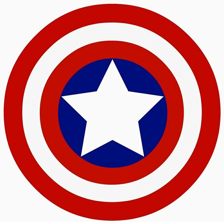 Captain Americas sheild! - visit to grab an unforgettable cool 3D Super Hero T-Shirt!