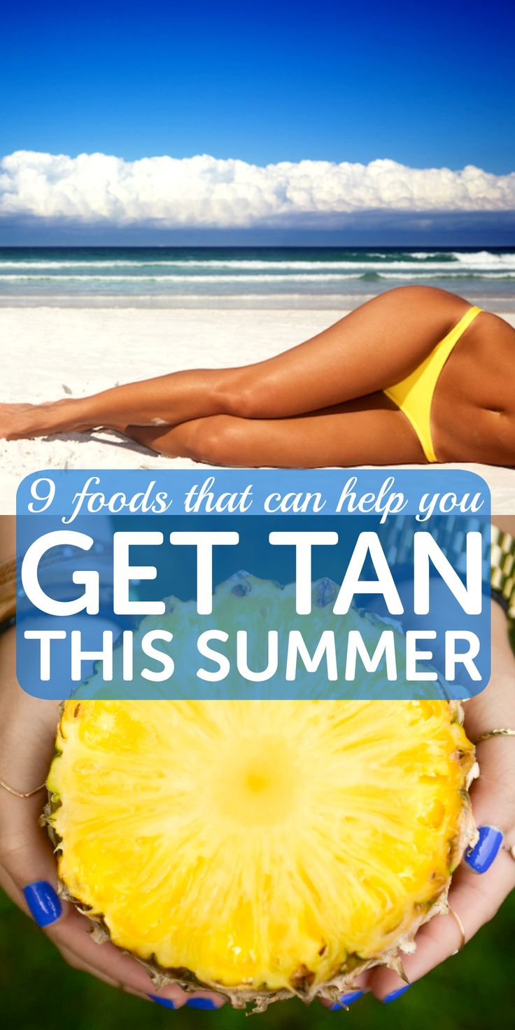 9 foods and recipes that can help you get tan this summer
