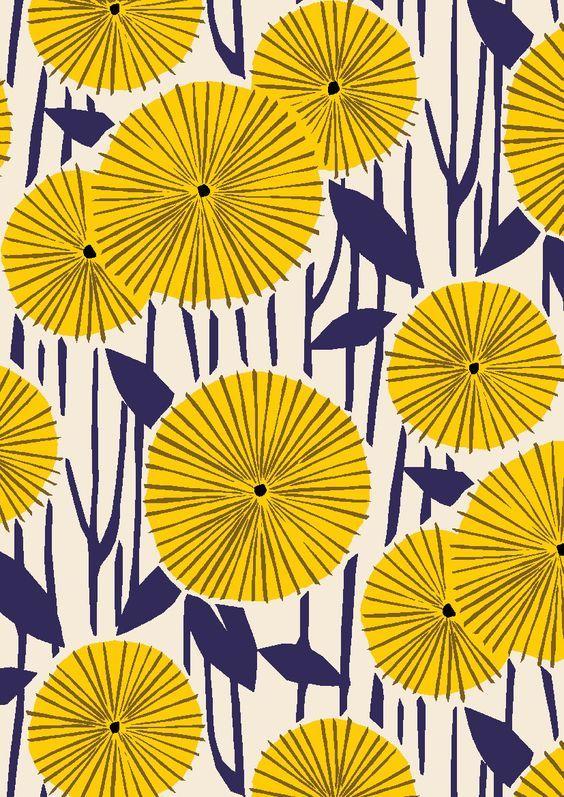 flower pattern by minakani
