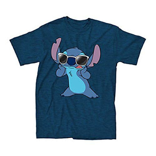Stitch dons his unglasses and is a true superstar on this Men's tee. - Officially licensed Disney T-shirt - Standard Adult Men's sizes and Fit - Stich is from the stars and a star!                                                                                                                                                                                 More