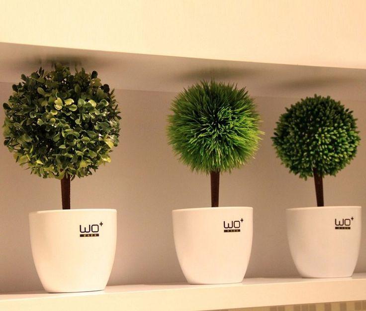 Las 25 mejores ideas sobre plantas artificiales en for Plantas artificiales para interiores