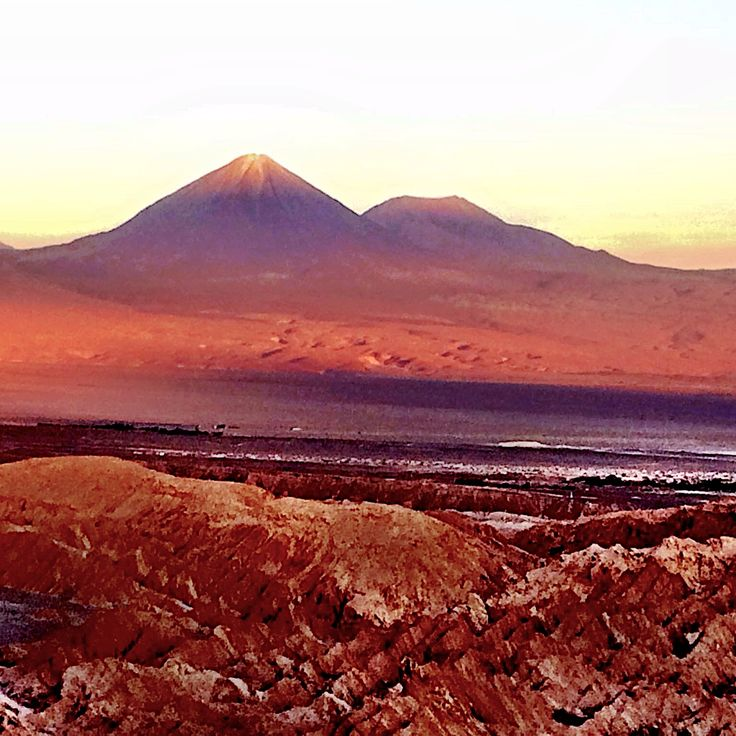 The Color Purple - Atacama, Chile