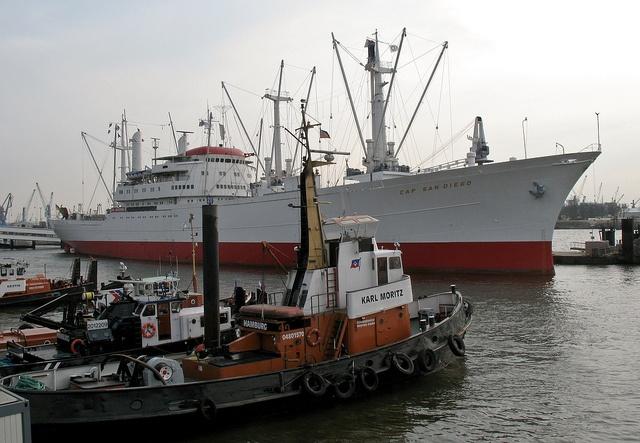 """Cap San Diego"", Hamburg 2012 - 04, via Flickr."