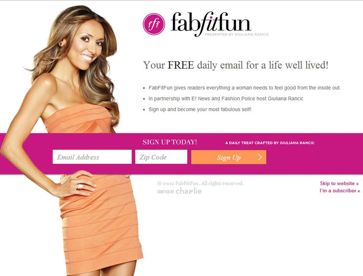 This is a great example of a pop-up or other type of Freemium opt-in.