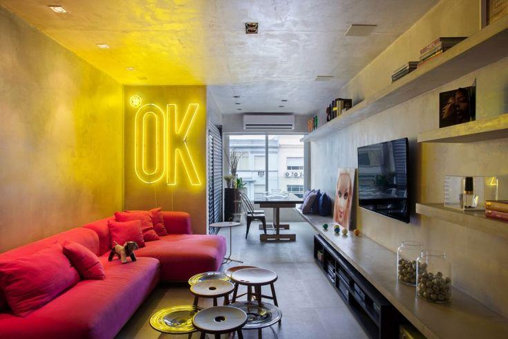 Современная квартира в Бразилии   Про дизайн Сайт о дизайне интерьера, архитектура, красивые интерьеры, фотографии интерьеров, декор, стилевые направления в интерьере, интересные идеи и хэндмейд