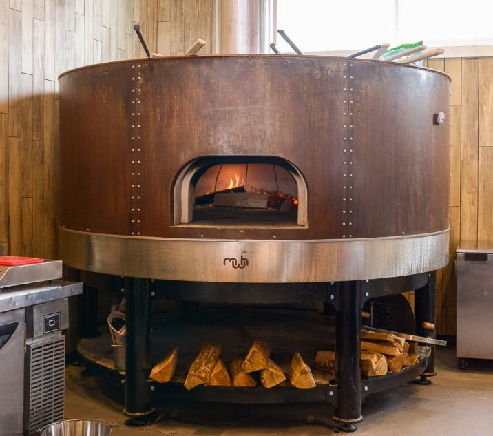 The Brewer's Fork | Charlestown, MA | Corten Steel | Wood Fired Oven | Maine Wood Heat Company