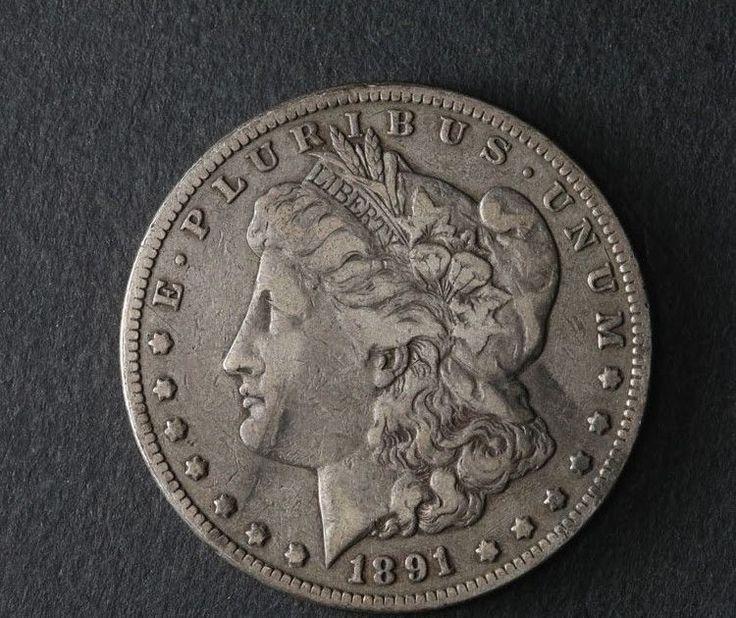 1891-CC Morgan Silver Dollar Great Deals From The TECC Bargain Bin