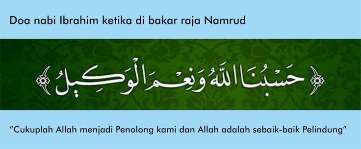 Pray. Ibrahim. Namrud