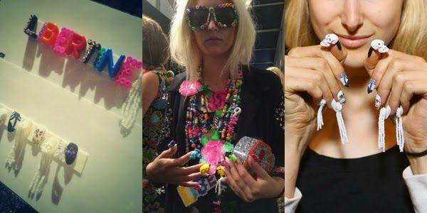 CND nails | New York Fashion Week | Libertine #nailart #nails