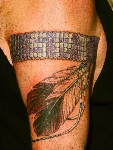 Blackfoot Indian tattoo