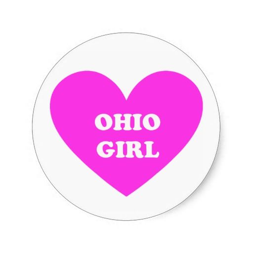 Ohio Girl Sticker