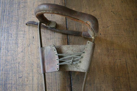 Leg Brace Medical Caliper Calliper Steampunk by FoundByHer on Etsy