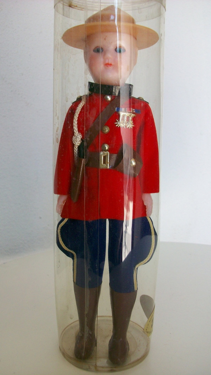 CANADIAN Mounted Police doll