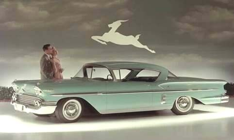 1958 Chevrolet Impala Ad This Was The First Year Of The