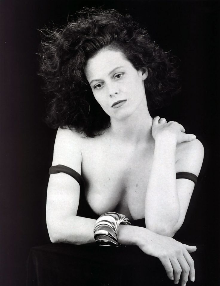 Sigourney Weaver by Robert Mapplethorpe