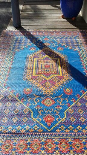 Recycled Plastic Outdoor Rug