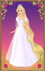 Disney Wedding - Rapunzel by LadyAquanine73551