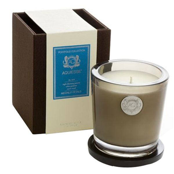 aquiesse candles: Buy aquiesse portfolio collection scented soy candle moonlit petals 11oz at top brand. Find decorative & smelling fresh aquiesse candles.
