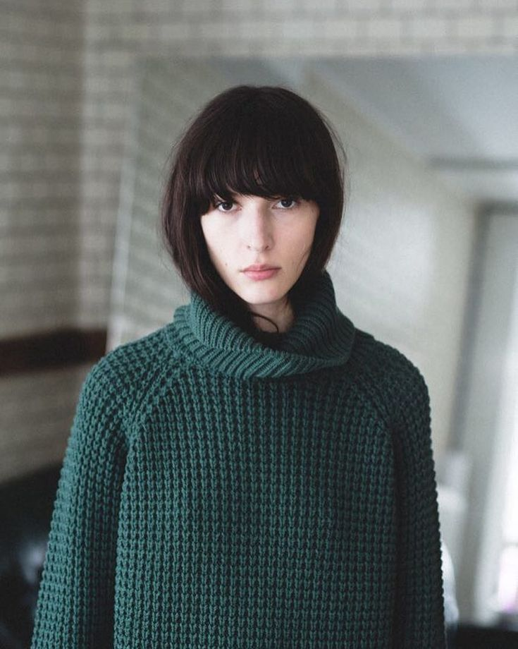 HOPE classic Grand Sweater in this seasons new colour, dark green.