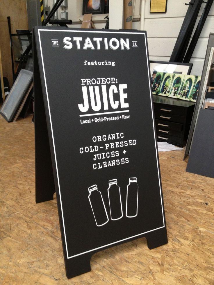 juice bar chalk board - Google Search