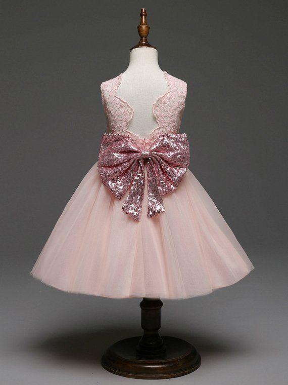 Infant Baby Girls Sleeveless Christening Dresses Birthday Party Tulle Tutu Dress