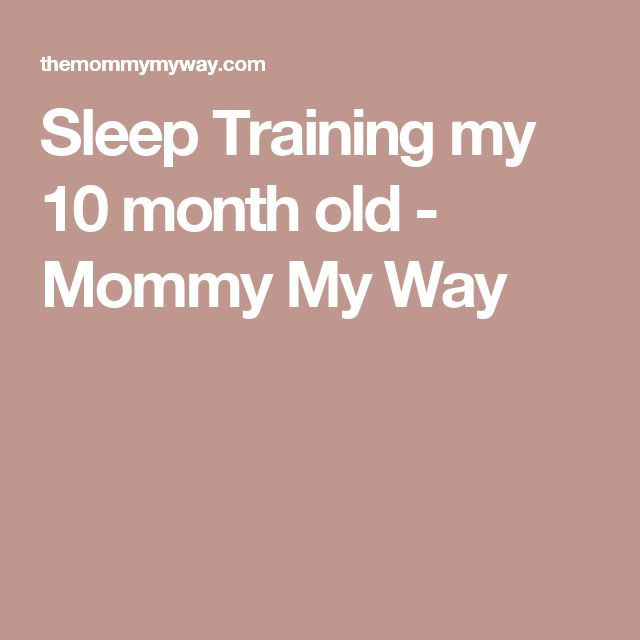 how to sleep train my 9 month old baby
