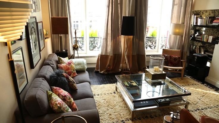 laura gonzalez est parfaitement parvenue agencer un canap ikea avec un fauteuil en osier de. Black Bedroom Furniture Sets. Home Design Ideas