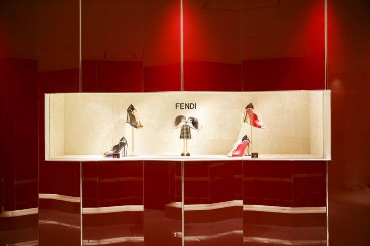 The Fendi pop-up store at Isetan Tokyo is full of holiday cheer with the Fendi Hypnoteyes capsule collection.