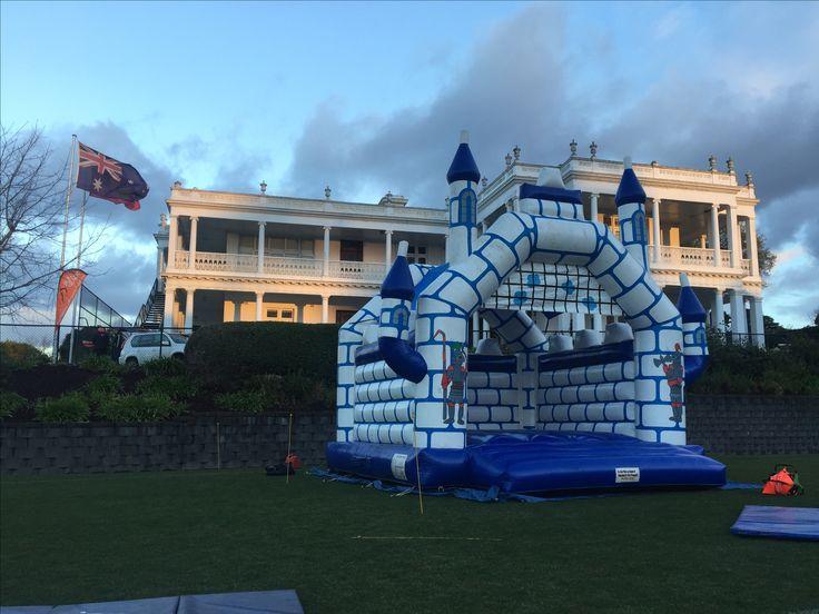 Open front jumping castle hire Melbourne www.bongobounce.com.au