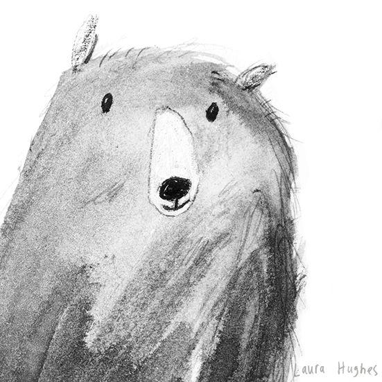 cute, illustration, bear, drawing, character, kids