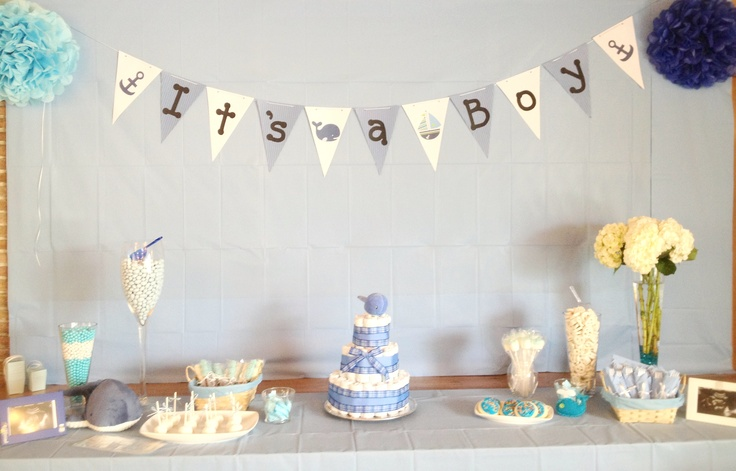whale themed baby shower babyshowers pinterest themed baby