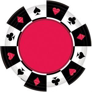 Casino tallerkener