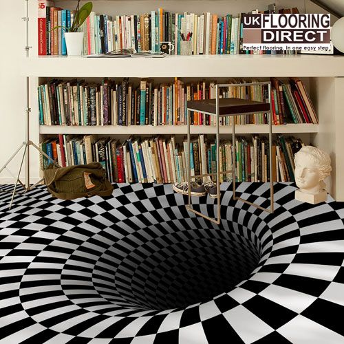 17 Best Images About Optical Illusions Interiors On