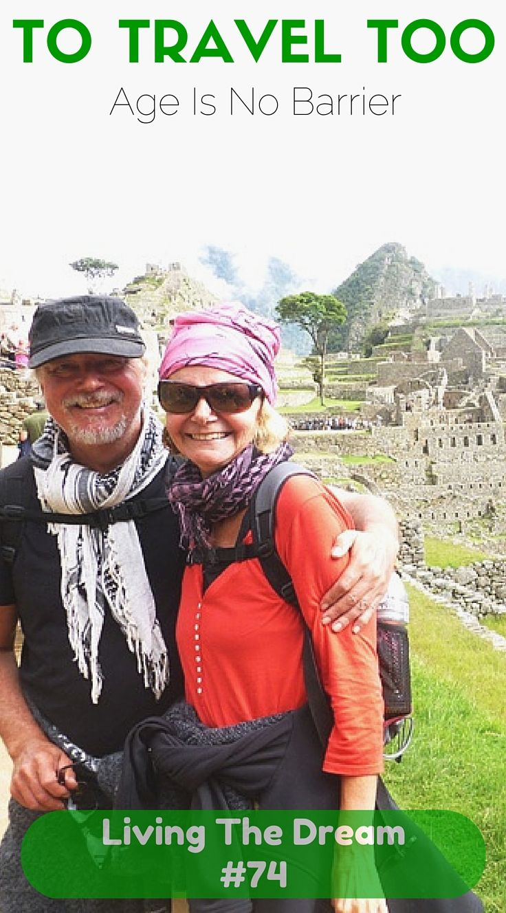 It's not everyday we hear about a few 60 year olds Living The Dream, but Duncan and Jane are doing just that. They take their pension to a whole new level and you'll love reading about their senior gap year.