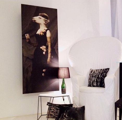 Rosalba wardrobe by ibride.  #design #wall #storage #animal #funiture #ibride #cabinet #wardrobe #home #interior #decoration (photo @malabellepl)