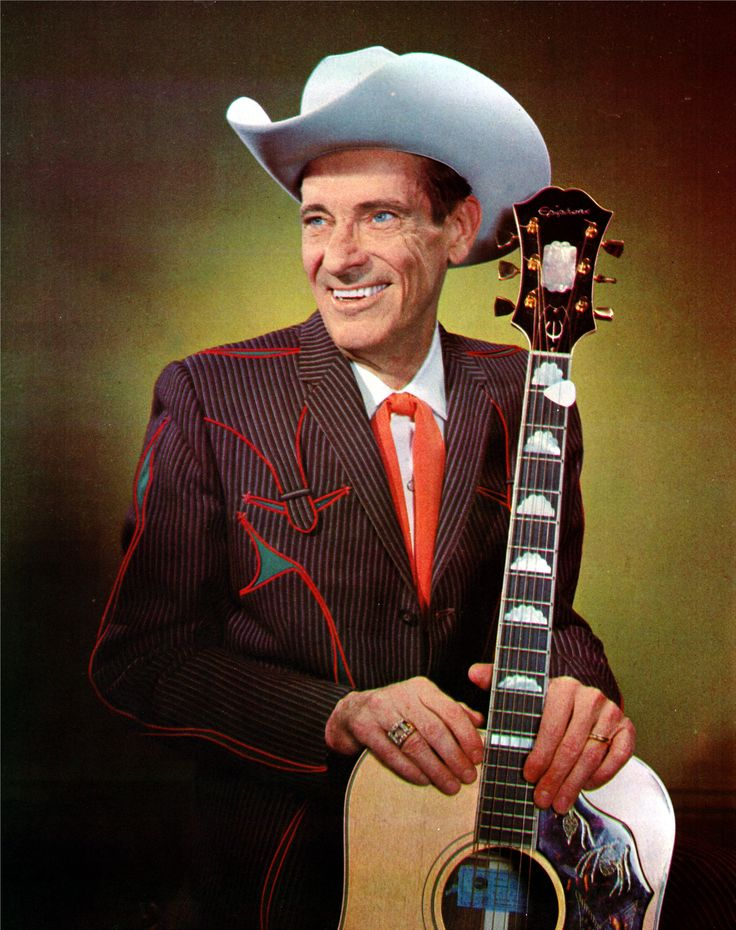 Ernest Tubb  |  (From the 1966 Grand Ole Opry Picture History Book.)