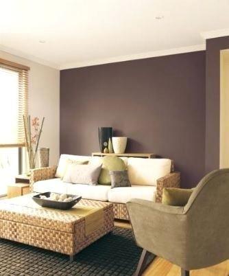 Best 25 mauve walls ideas on pinterest mauve bedroom - Purple feature wall living room ideas ...
