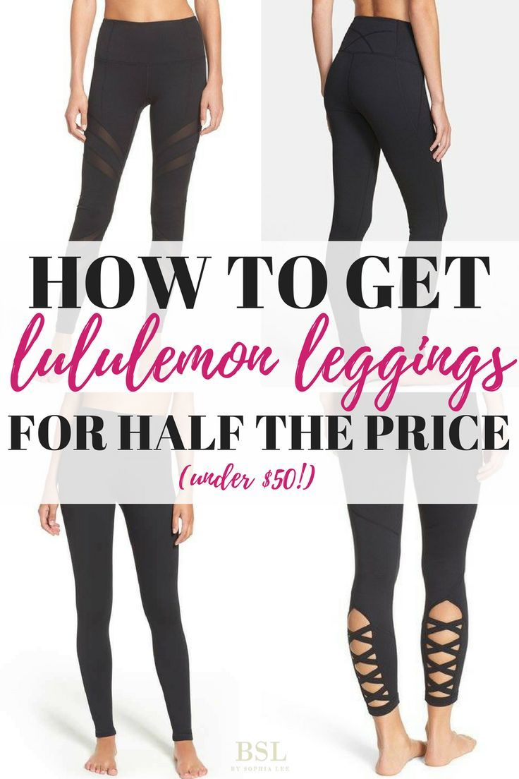 If you're looking for lululemon leggings for cheap you need to check out this post! This blogger figured out the secret to getting cheap workout clothes!