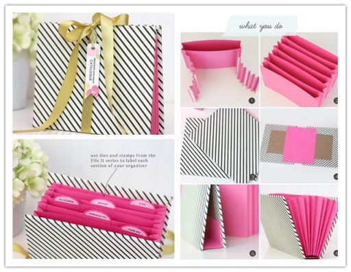 How to make a simple DIY stationary organizer step by step tutorial instructions