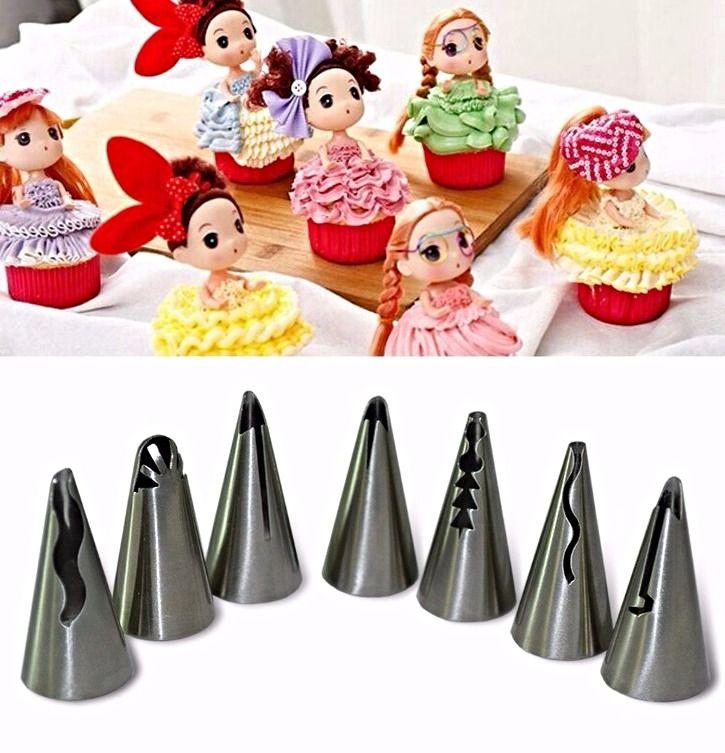 Frill/Ruffle Icing Piping Nozzles #pipingnozzles  www.itacakes.com