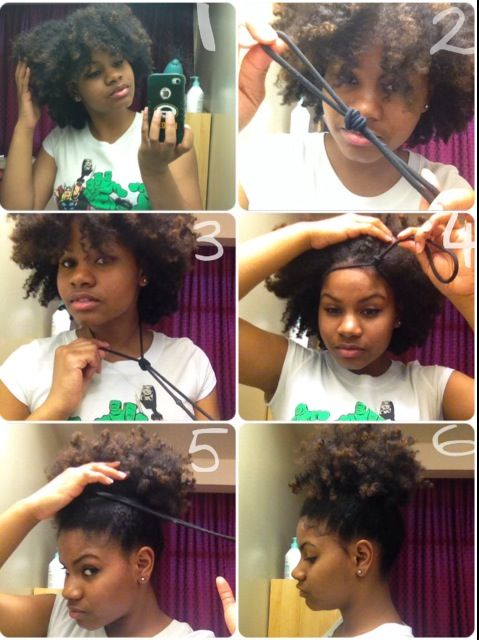 How To Make Your Puff Look Larger Hair Hair Pinterest